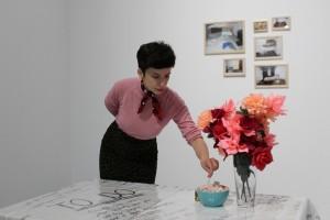 12. Sanja Ćopić, Važno je da budeš svesna svega u svakom trenutku i Nadam se, poslednji rad koji sam otaljala, autoportret, f. E. Teokarević