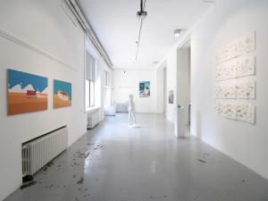 1. Masterpieces II, Installation view