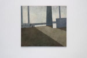 11. Masterpieces II, Teodora Rakidžić, Emptyness, oil on canvas, 80 x 90 cm