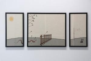 12. Masterpieces II, Aleksandar Obućina, Currently untitled, digital print, 60 x 130 cm (triptych)