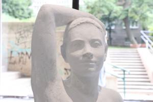 19. Milica Rakočević, Jana, plaster, 80 x 45 x 168 cm