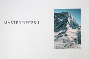 20. Masterpieces II, Irena Jevtović, Mountain, analogue photography, digital print, 105 x 158 cm