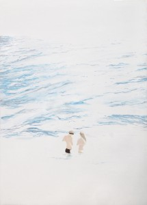 3. Swimmers, 2013, Oil on canvas, 130x180cm