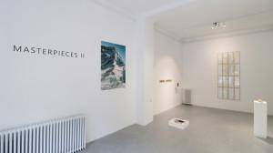 4. Masterpieces II, Installation view