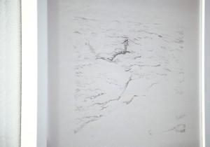 5. Into the Wave,  Lidija Delić, Drawing on paper,40x135cm,2013 (Foto Nemanja Knežević)