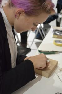 5. Radionica Handmade artist's book