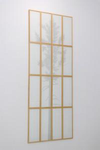 8. Masterpieces II, Bogoljub Đoković, Typing machine on a rice paper, 22,5 x 63 cm (each)