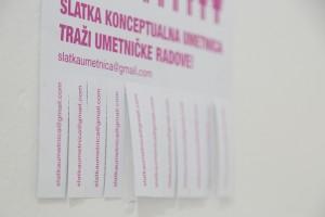 Slatka konceptualna umetnica, foto Nemanja Knežević (9)